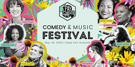 Pay Gap Comedy & Music Festival with Maker's Marketplace - Half Day Comedy tickets