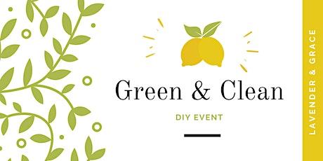 Green & Clean DIY Event tickets