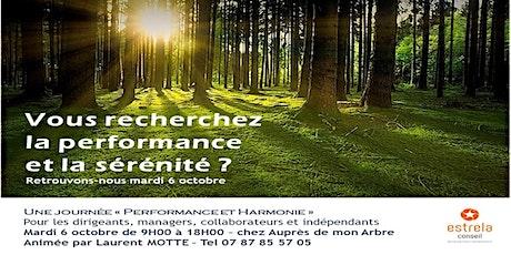 Une journée pour la Performance et l'Harmonie billets