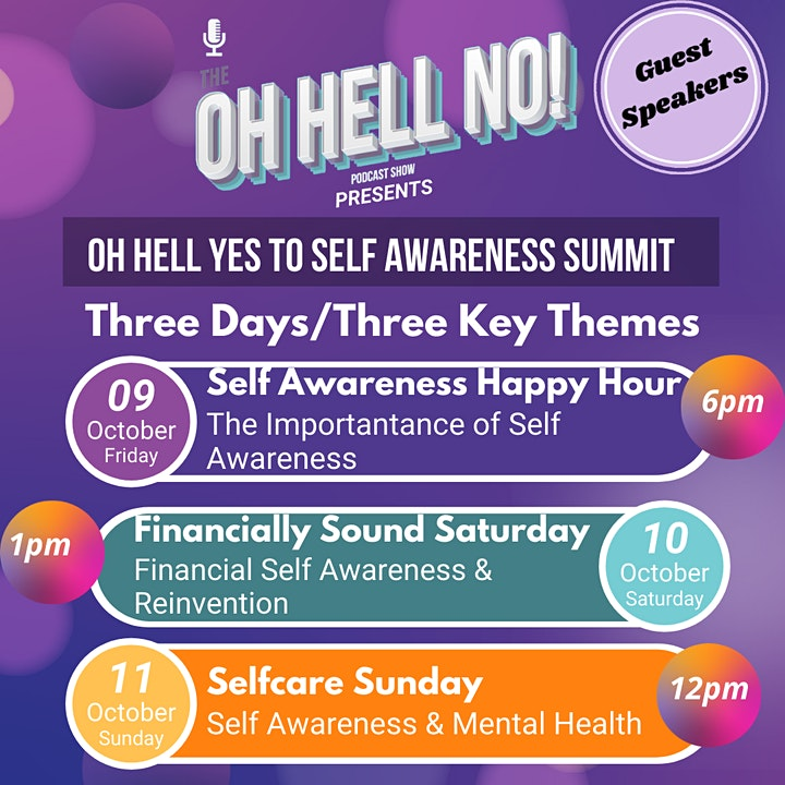 The Oh Hell No Podcast Presents - Oh Hell Yes To Self Awareness image