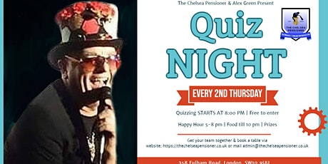 Quiz Night at The Chelsea Pensioner tickets