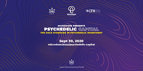 Psychedelic Capital Fall - The gold standard for psychedelic investment. tickets