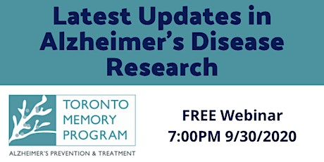 Latest Updates in Alzheimer's Disease Research tickets
