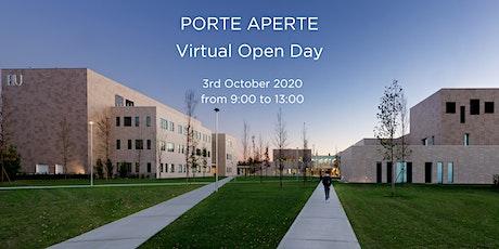 PORTE APERTE - Virtual Open Day Humanitas University biglietti