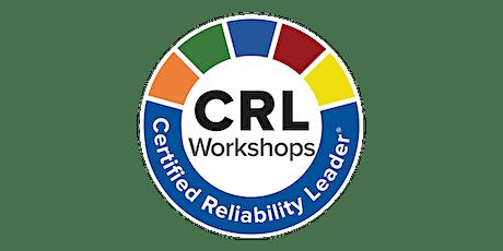 December 2020 Certified Reliability Leader  Online Workshop tickets