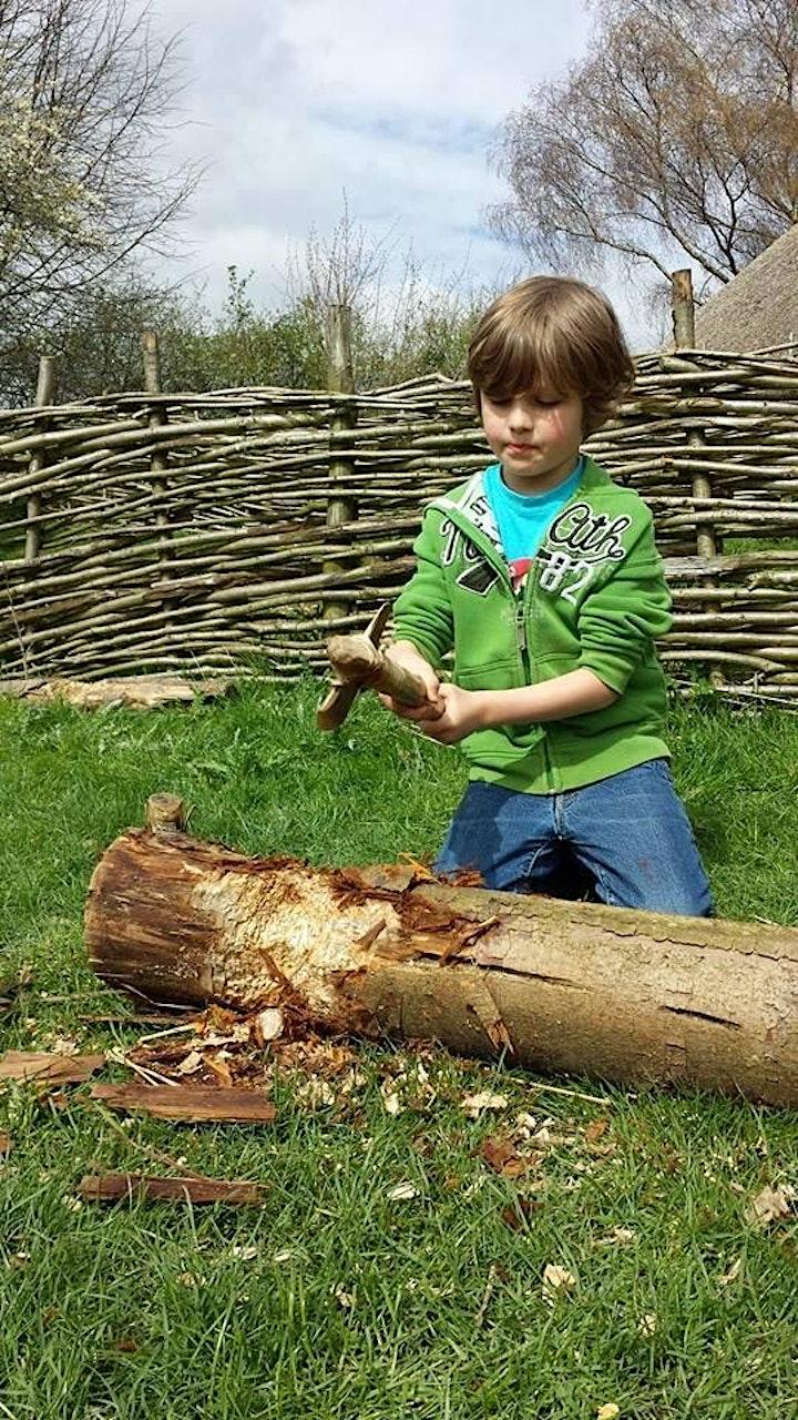 Prehistory day for Home Education children image
