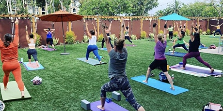 Outdoor Yoga at the Marriot Mission Valley tickets