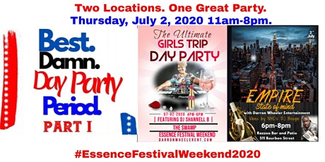 The Best Damn Day Party Period EMF'21 with Darron Wheeler Entertainment tickets