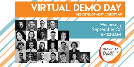 NSS Virtual Demo Day: Web Development Cohort 40 tickets