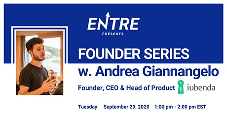 Founder Series with CEO of iubenda tickets