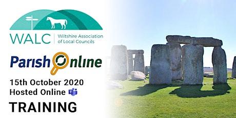 WALC - Parish Online - Online Training tickets