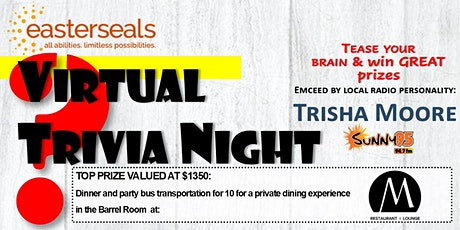 Virtual Trivia Night Presented by Easterseals tickets