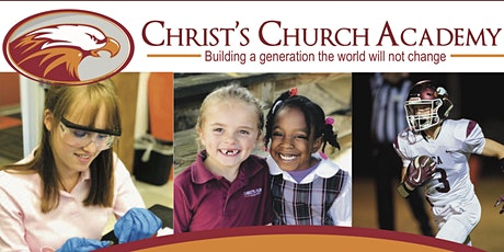 Christ's Church Academy Informational Meetings for the 2021-22 School Year tickets
