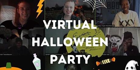 Virtual Halloween Party on ZOOM tickets