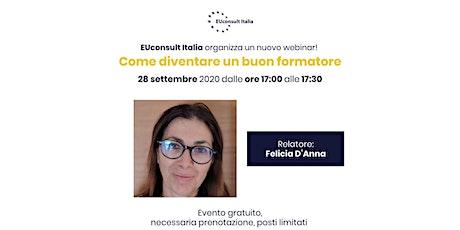 EUconsult Italia - Webinar settembre 2020 biglietti