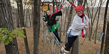 Trick-or-Treetops Halloween High Ropes tickets