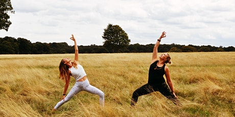 Yoga in Bushy Park - with lunch at The Six, The Kings Arms Hampton Court tickets