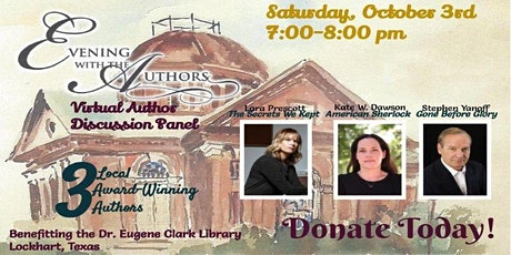 Evening With The Authors - Virtual Author Discussion Panel tickets