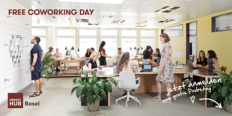 Free Coworking Day at Impact Hub Basel tickets