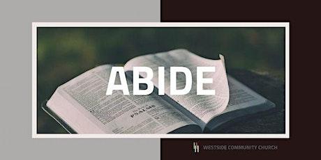 Abide tickets