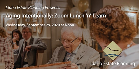 Aging Intentionally: Lunch and Learn - September 29 tickets
