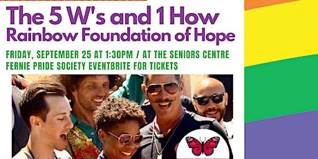 Rainbow Foundation of Hope Presentation tickets