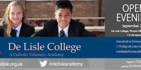 De Lisle College Open Evening: 6 - 7.30 pm tickets