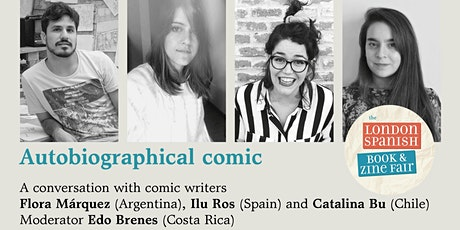 Autobiographical Comics from the Spanish speaking world tickets