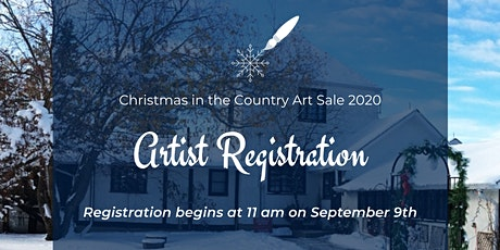 Christmas in the Country 2020 Artist Registration tickets