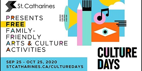 Ready, Set, Paint! Culture Days 2020 tickets
