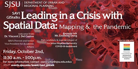 Leading in a Crisis with Spatial Data; Mapping &  the Pandemic tickets