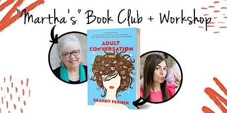 Martha's Book Club + Workshop tickets