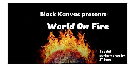 BlacKanvas Presents: World on Fire tickets