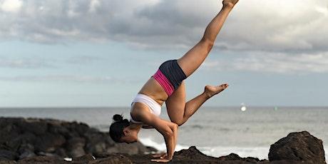 60 Minutes Free Virtual Yoga (Advanced) with Serena Xu — DC tickets