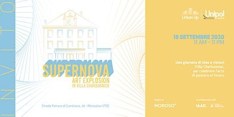 SUPERNOVA. ART EXPLOSION IN VILLA CHARBONNIER biglietti