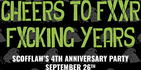 Scofflaw Brewing  4th Anniversary Party tickets