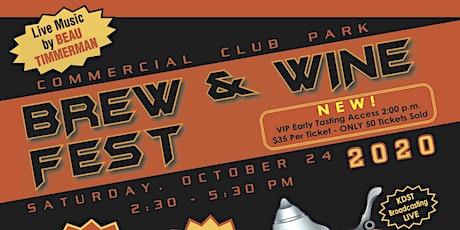 2020 Fall Brew & Wine Fest tickets