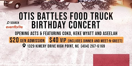 Otis Battles Food Truck/ Birthday Concert tickets