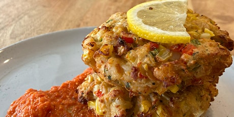 Quarantine Cooking with Grace and Garlic Fingers - Shrimp Cakes tickets