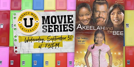 Legacy West University Movie Series: Akeelah and the Bee tickets