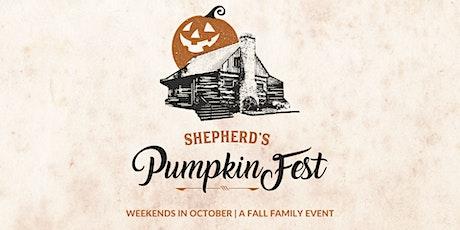 Shepherd's Pumpkinfest tickets