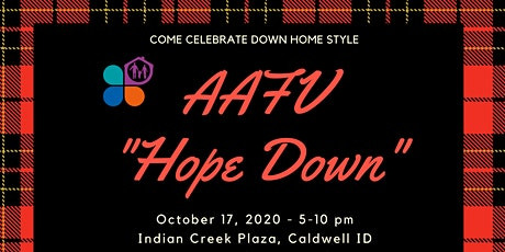 Advocates Against Family Violence- Hope Down Come celebrate downhome style tickets