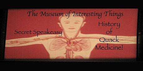 Quack Medical Secret Speakeasy Sun Sept 20th 7pm tickets