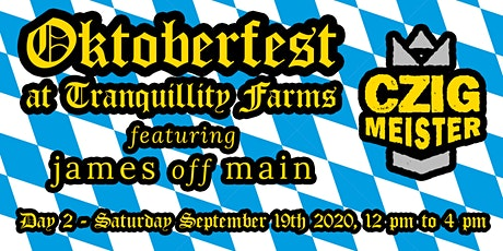 Oktoberfest - Day 2 (12 to 4 PM) tickets