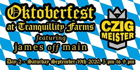 Oktoberfest - Day 2 (5 to 9 PM) tickets