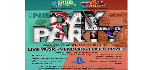 Madden 21 and NBA 2K21 Day Party tickets