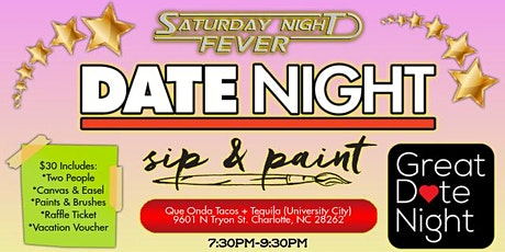 Saturday Date Night: Sip & Paint tickets