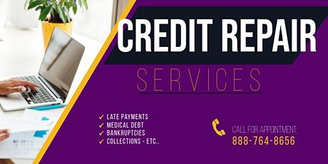 FREE Credit Repair Consultation & E-Book tickets