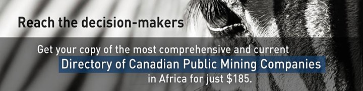 2020 Directory: Canadian Public Mining Companies in Africa image