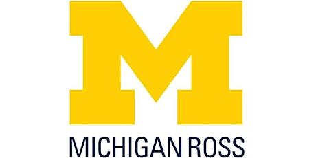 International - Michigan Ross Online MBA Consultations tickets